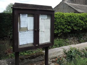 Timble Noticeboard